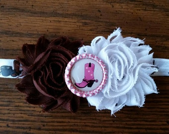 Shabby Chic Cowgirl Bow