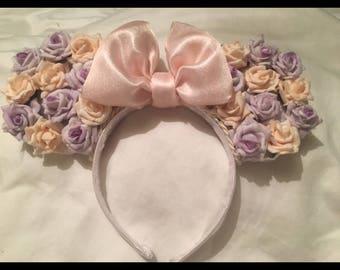 Disney mouse ears flowery, flower and garden festival