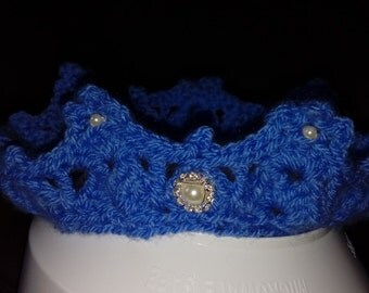 Crochet Baby Crown Headband