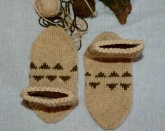 Wool socks, hand made socks, organic wool socks, custom made socks, traditional bulgarian socks, natural wool socks, pattern socks.