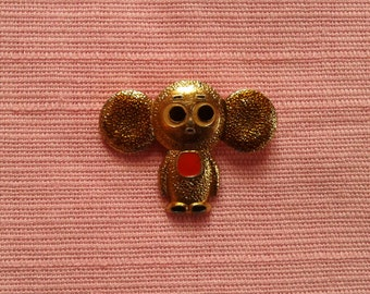 Soviet icon Cheburashka. Vintage. Of the Soviet Union.
