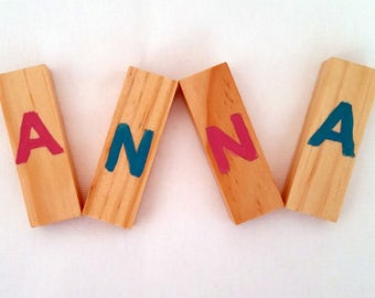 Personalized name puzzle for kids | Wooden puzzle