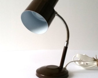 Sweet Brown vintage desk lamp
