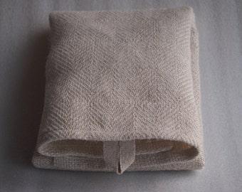 Handwoven towel: Linen joy, hemp