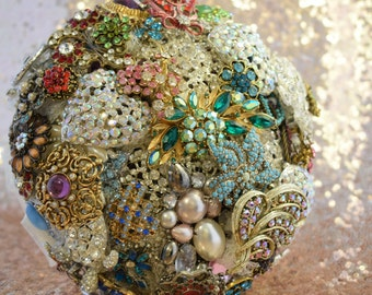 Brooch bouquet - Bright & Beautiful