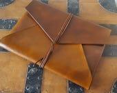 A4 Document holder Leather Document Holder Carryall clutch laptop holder portfoilo