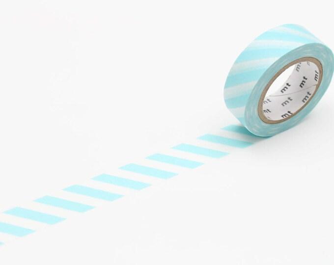 MT Washi tape - stripe mint blue