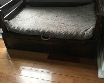 Platform Dog Bed Etsy