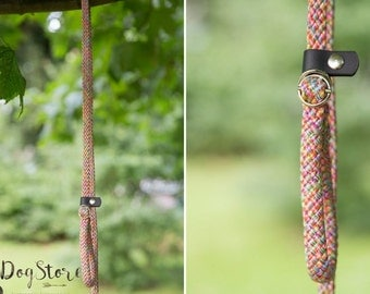 Slip Lead - Rope leash - Candy