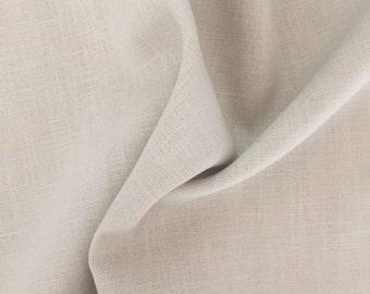 Linen fabric, uni, beige 7213