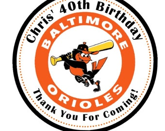 Orioles stickers etsy Calligraphy baltimore