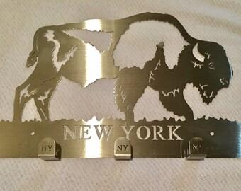 Buffalo New York Key Ring Holder