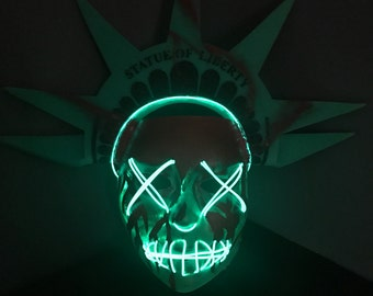 Lady Liberty Mask- Inspired by The Purge: Election Year.