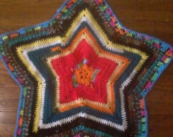 Scrap star baby throw