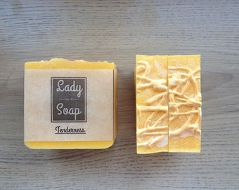 Tenderness, Natural soap, Handmade Soap, Aloe - vera, All natural soap
