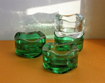 A Little Unknown Glass Candle Holder