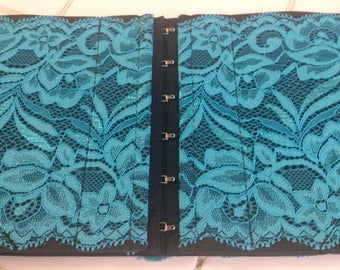 Women's Holster - Teal Lace Conceal Carry Option