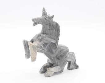 Carved Onyx Unicorn