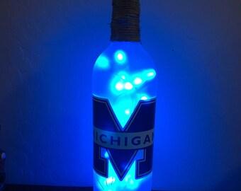 U of M Light up Bottle