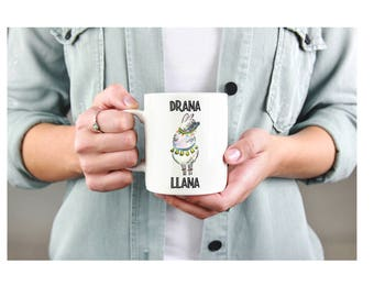 Llama Coffee Mug - Funny Coffee Mug - Drama Llama Mug - Llama Gifts