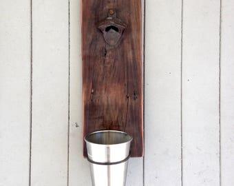 Recycled Wood Bottle Opener
