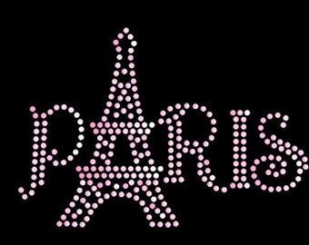 PARIS rhinestone file svg .studio3 PDF DXF