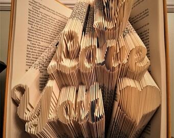 I Love You Book Folding
