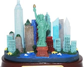 New York City Skyline Replica