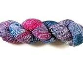 Hand Dyed Yarn 'Tulip Field' - Sock Weight Hand Painted Tonal/Varigated Yarn - 100g of 75/25 Merino/Nylon Blend Superwash 4-Ply Yarn