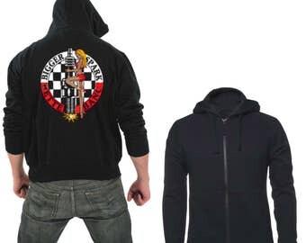 Zipper hoodie Bigger spark