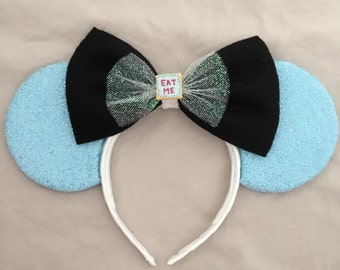 Alice in Wonderland Mickey/Minnie Mouse Ears