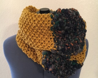 Old English Oversized Cowl