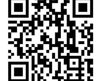 QR Code Car Decal   Scanner   Window Sticker   Website Director