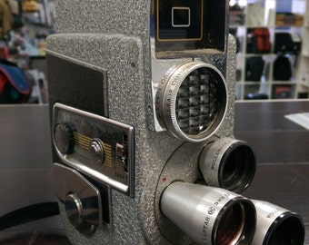 Revere Eye-Matic 8mm Movie Film Camera CA-4