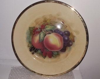 Decorative Staffordshire Plate