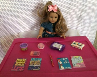 "Doll Accessories- Art & Creativity Set....18"" Dolls size"