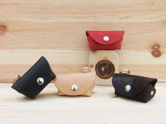 Leather Dog Poop Bag Holder, Gift for Dog Lovers,  Handmade Dog Supplies, Dog Waste Bag Holder, Poop Bag Holder, Custom Dog Accessories