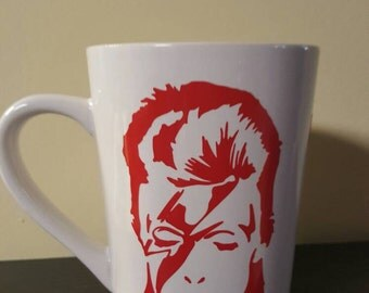David Bowie coffee cup