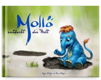 Mollö discover the world - illustrated children's book