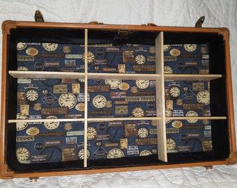 Time Vintage suitcase shelf