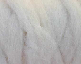 Alpaca Roving - White .25 oz