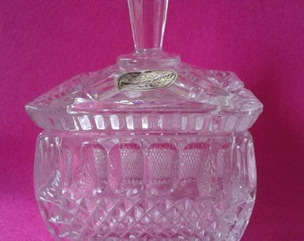1960s, a. H Bavaria 24% lead crystal, Bowl