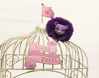 Pygmy Puffs Harry Potter Weasleys' Wizard Wheezes Pink Purple Pom Pom