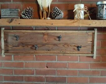 Barn Wood Coat Hanger