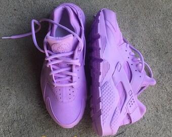 Lavender Nike Huarache Custom