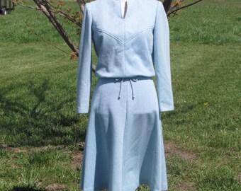 Tanglewood Vintage Polyester/Wool dress sz 8