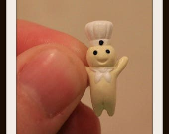 Vintage Miniature Pillsbury Doughboy, Miniature Poppin Fresh, Miniature Dough Boy