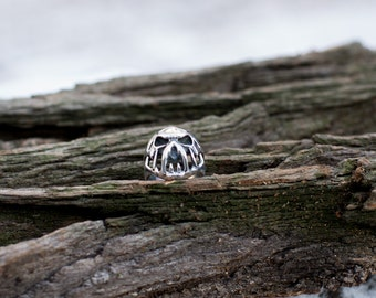 Silver ring, Sterling Silver Ring Handcrafted Jewelry, Weight 14.5g.