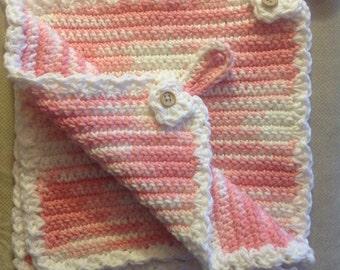Hand-crocheted Pot Holders