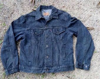 vintage 80's LEVI'S jacket..lot no 70506-0259